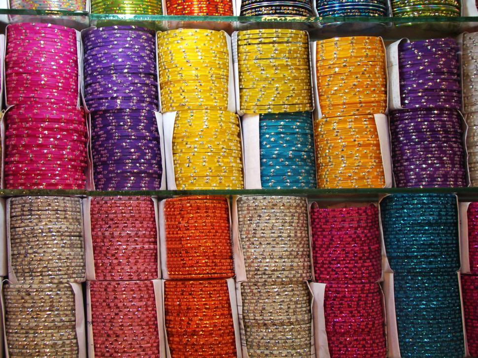 Download Free Stock HD Photo of Colorful Bracelets Online