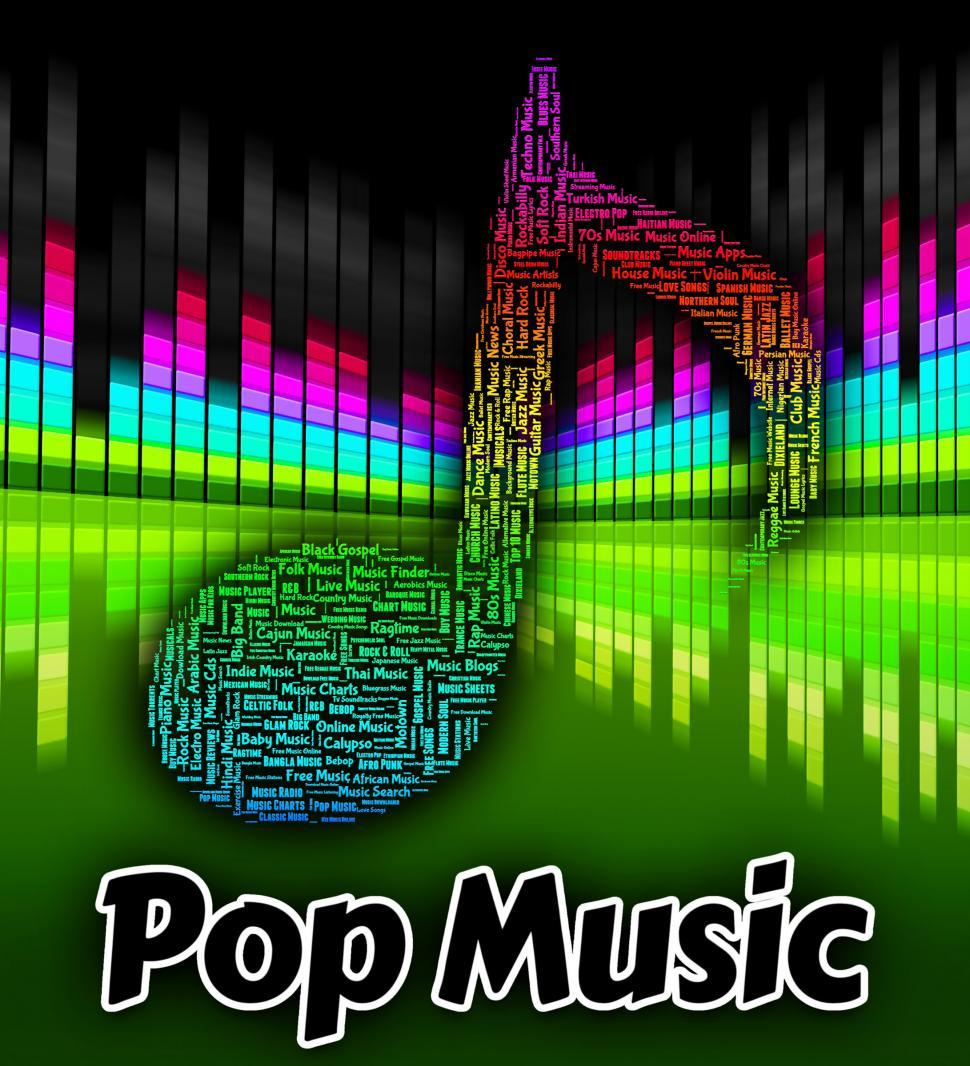 Get Free Stock Photos of Pop Music Means Sound Track And