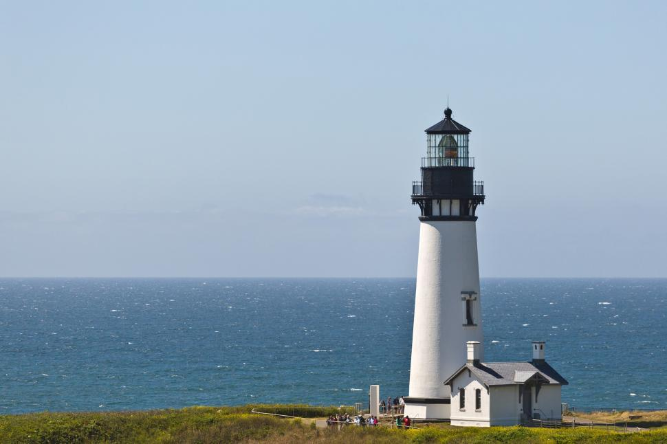 Download Free Stock HD Photo of Yaquina Head Lighthouse Online