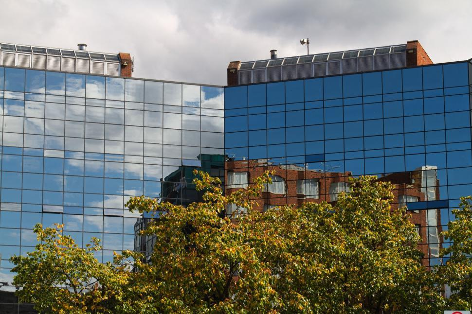 Download Free Stock HD Photo of Building reflection Online