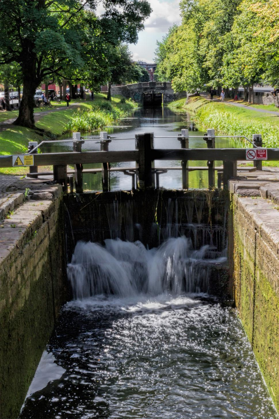 Download Free Stock HD Photo of Canal Gate Online