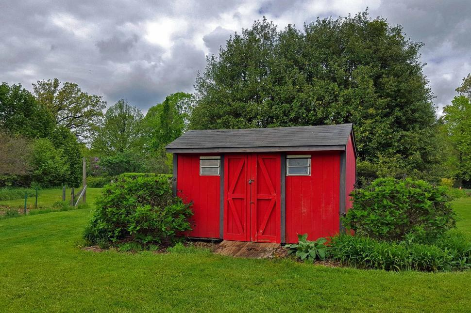 Download Free Stock HD Photo of Garden Shed Online