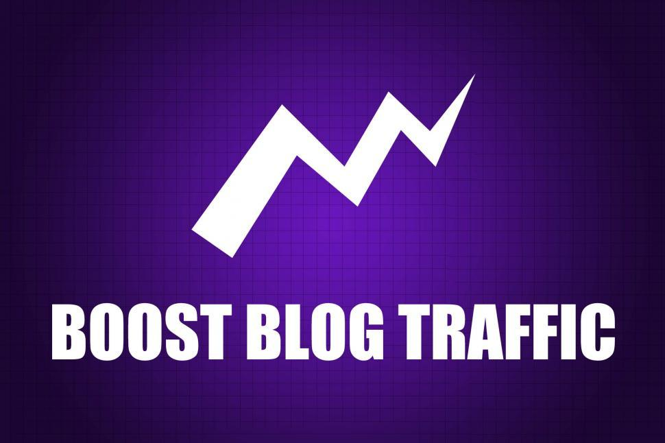 Download Free Stock HD Photo of Boost Blog Traffic Online