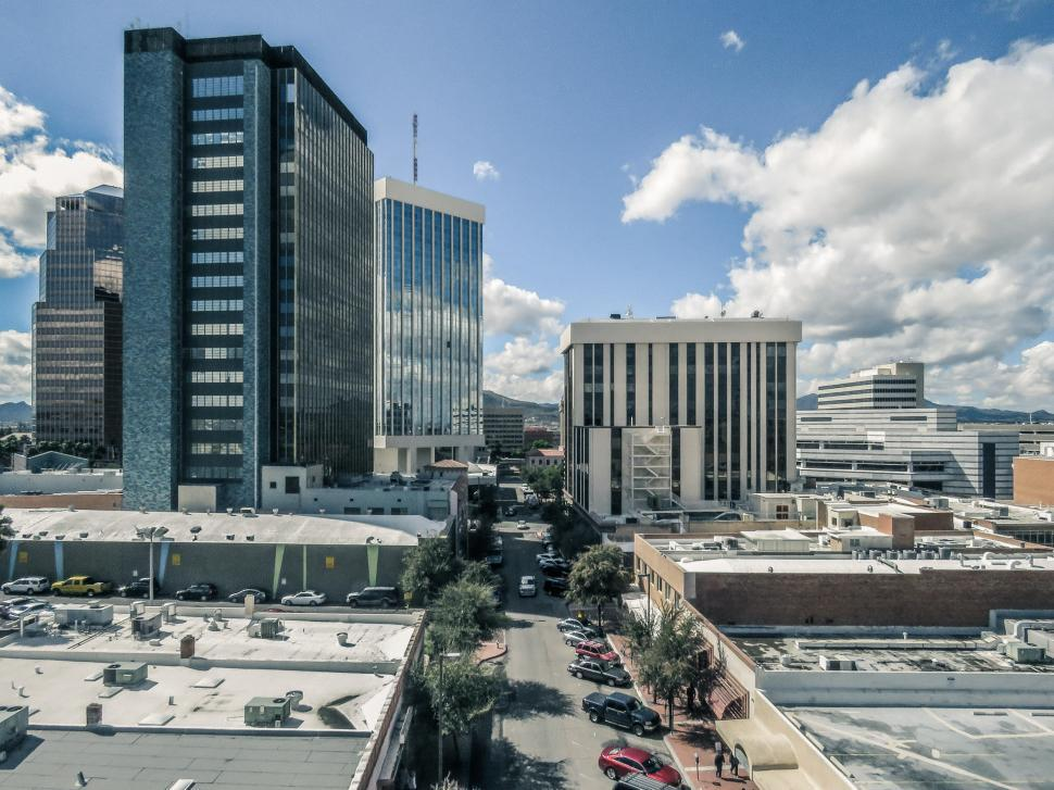 Download Free Stock HD Photo of Street in Tucson, Arizona Online