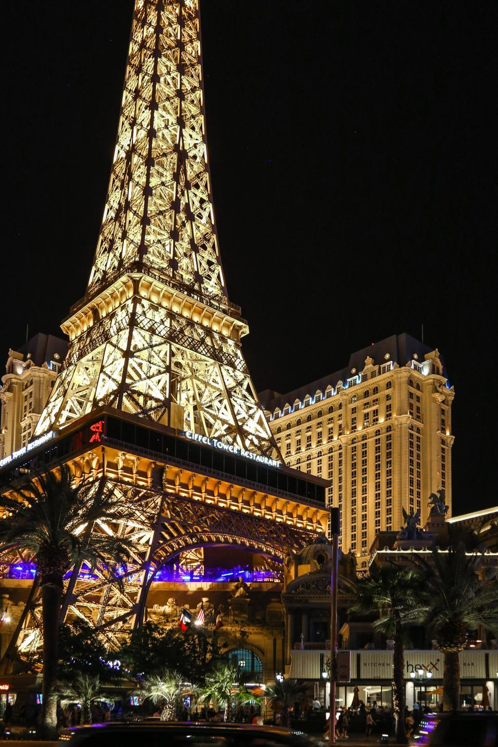 Download Free Stock HD Photo of Eiffel Tower Restaurant in Las Vegas Online