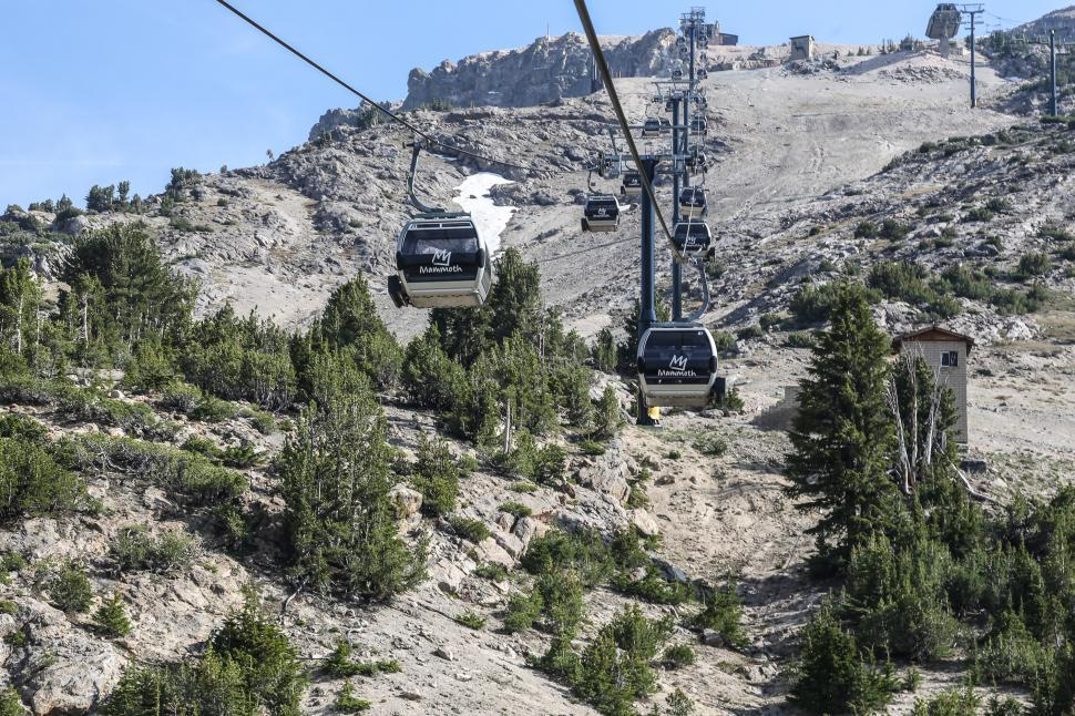 Download Free Stock HD Photo of Gondola cable cars during summer Online