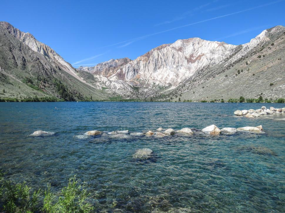 Download Free Stock HD Photo of Convict Lake Online