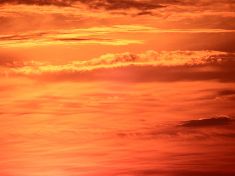 Download Free Stock HD Photo of Bright Orange Sunset Online
