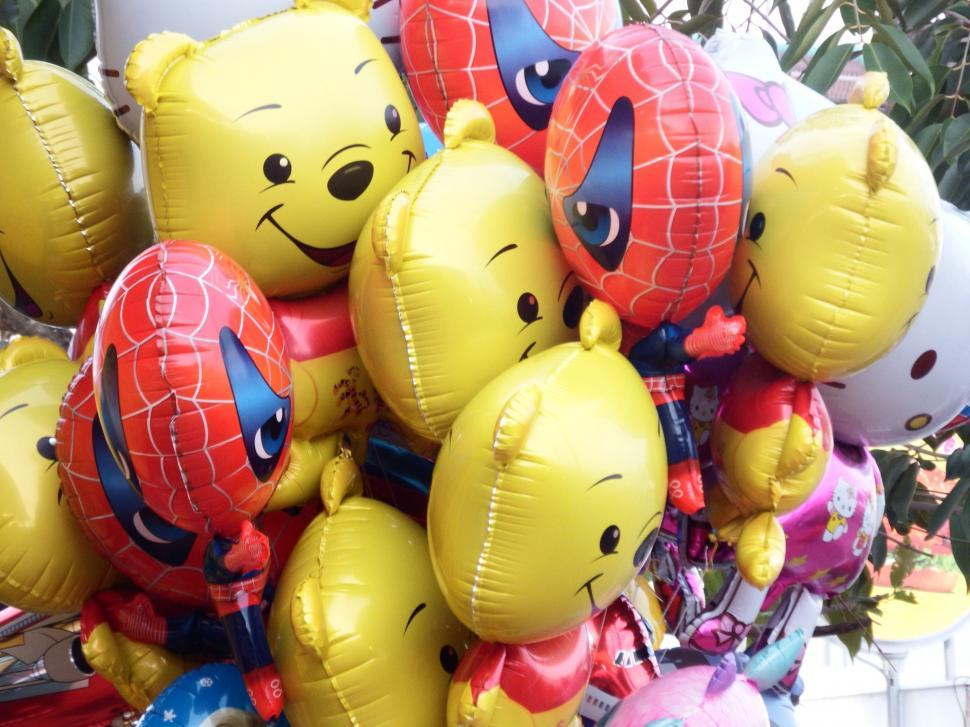 Download Free Stock HD Photo of Themed Balloons for Kids  Online