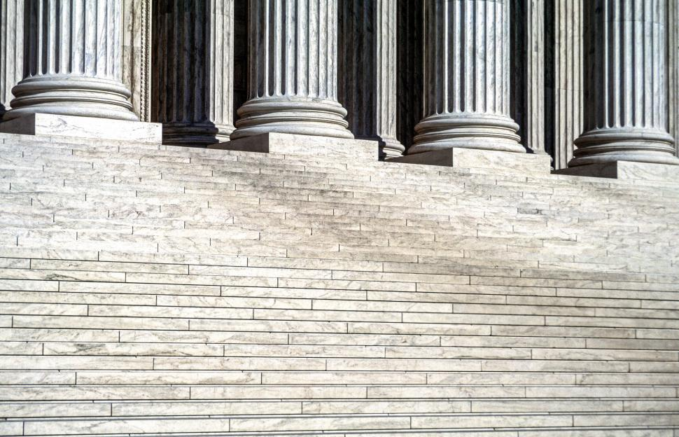 Download Free Stock HD Photo of Close-Up Of Marble Stairs Online