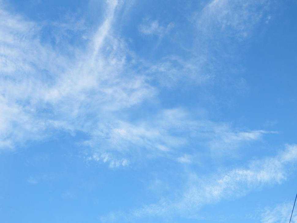 Download Free Stock HD Photo of Blue Sky and Fluffy White Clouds  Online