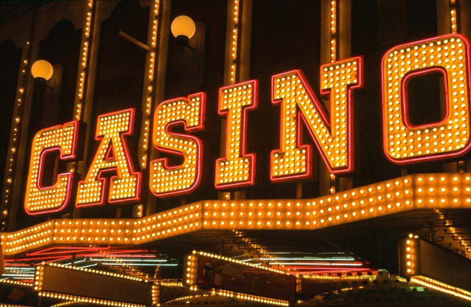 Neon casino entrance sign free ameristar casino marketing