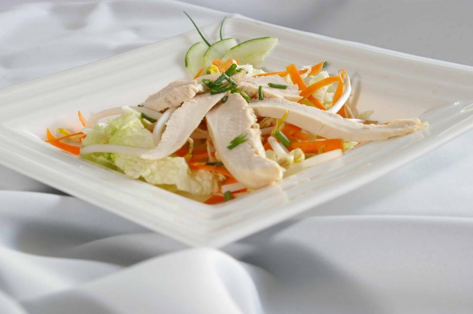 Download Free Stock HD Photo of Chicken Salad Online