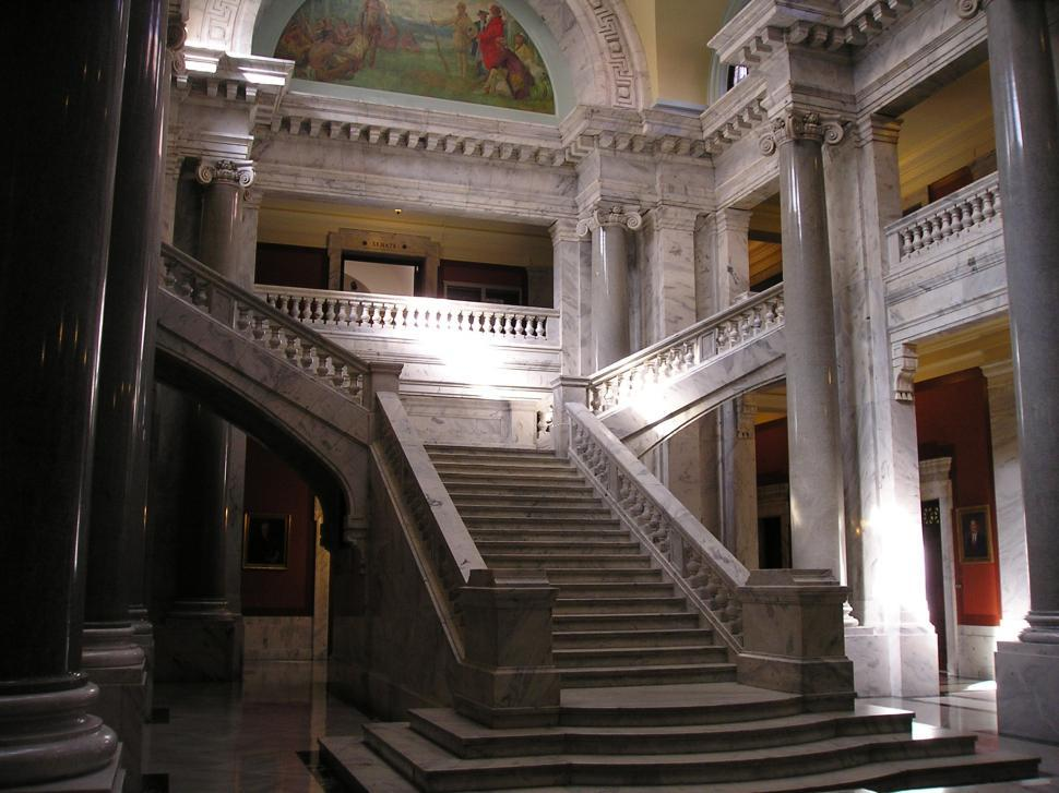 Download Free Stock HD Photo of Stairs, State Capitol, Lexington, KY Online