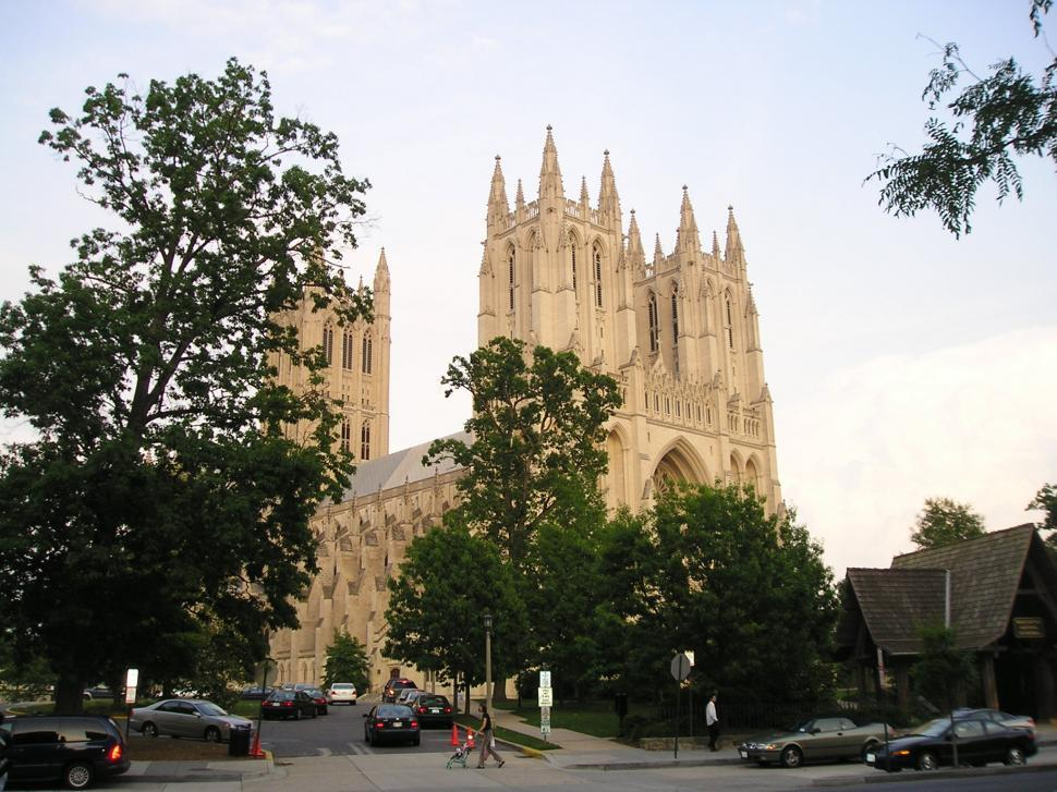 Download Free Stock HD Photo of National Cathedral Online