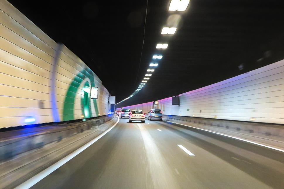 Download Free Stock HD Photo of Tunnel driving Online