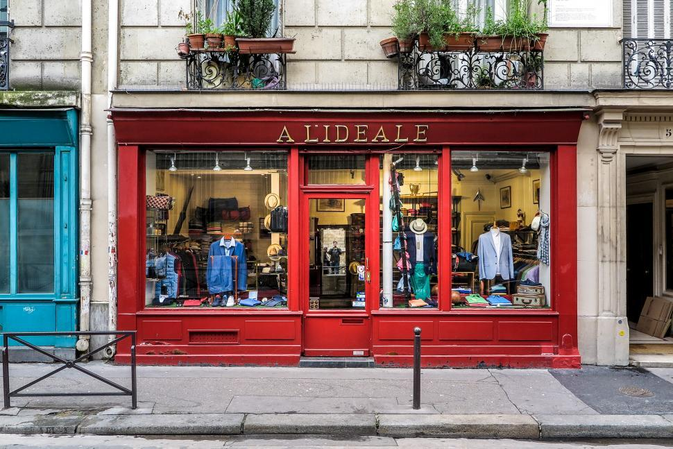 the latest 0f20a 7f9c4 Get Free Stock Photos of Red front of Paris Shop Online ...