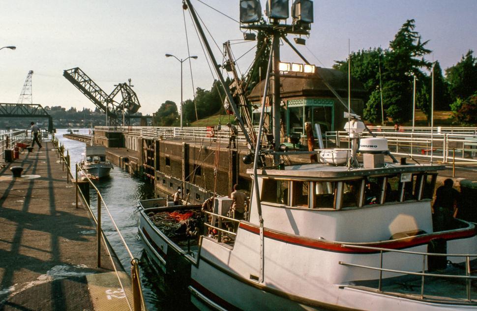 Download Free Stock HD Photo of Locks in Seattle Online