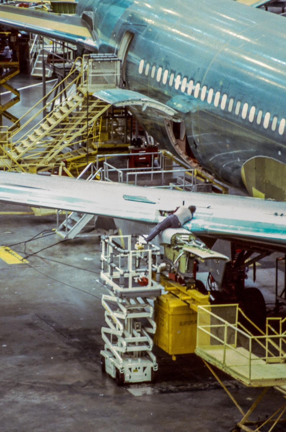 Download Free Stock HD Photo of Aircraft Manufacturing Facility Online