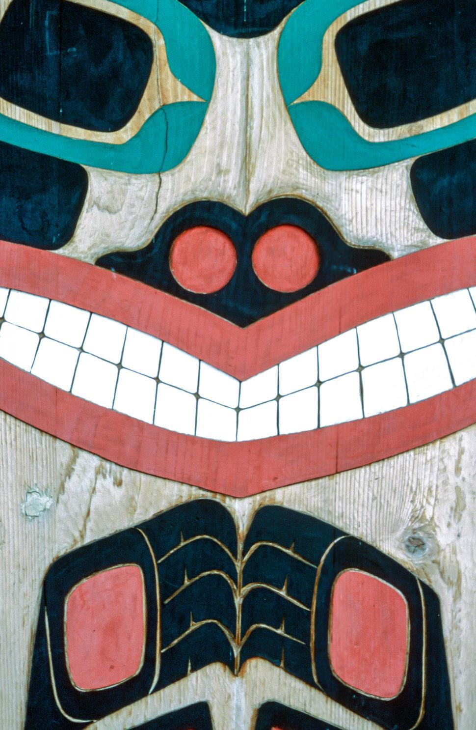 Download Free Stock HD Photo of Totem face Online