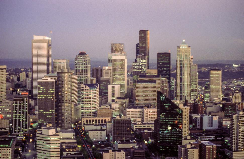 Download Free Stock HD Photo of Seattle Buildings Online
