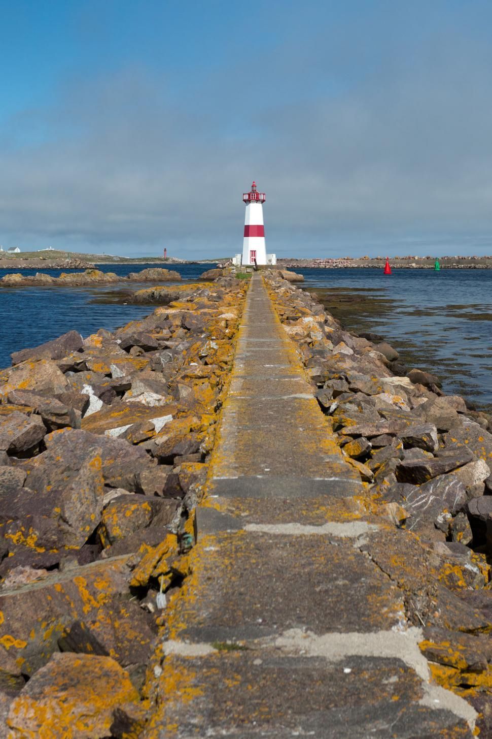 Download Free Stock HD Photo of Lighthouse and walkway Online