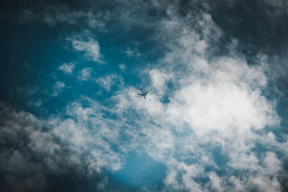 Download Free Stock HD Photo of Airplane in the sky Online