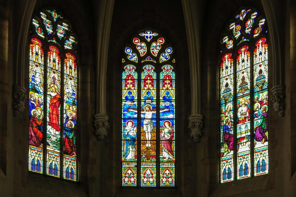 Download Free Stock HD Photo of Stained glass windows Online