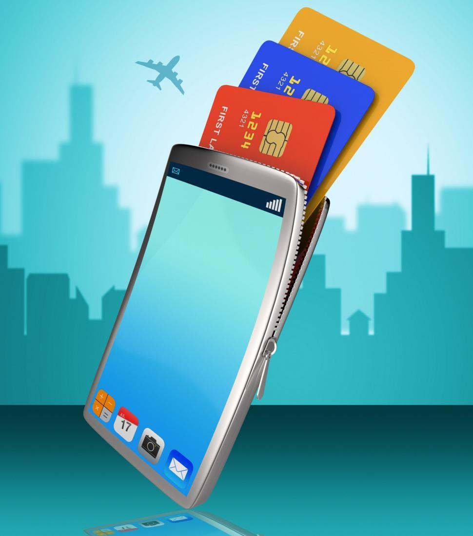 Download Free Stock HD Photo of Credit Card Online Indicates World Wide Web And Banking Online