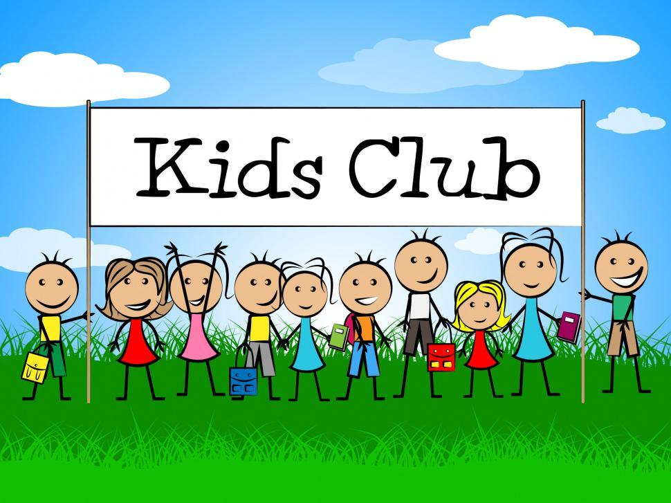 Download Free Stock HD Photo of Kids Club Indicates Free Time And Apply Online