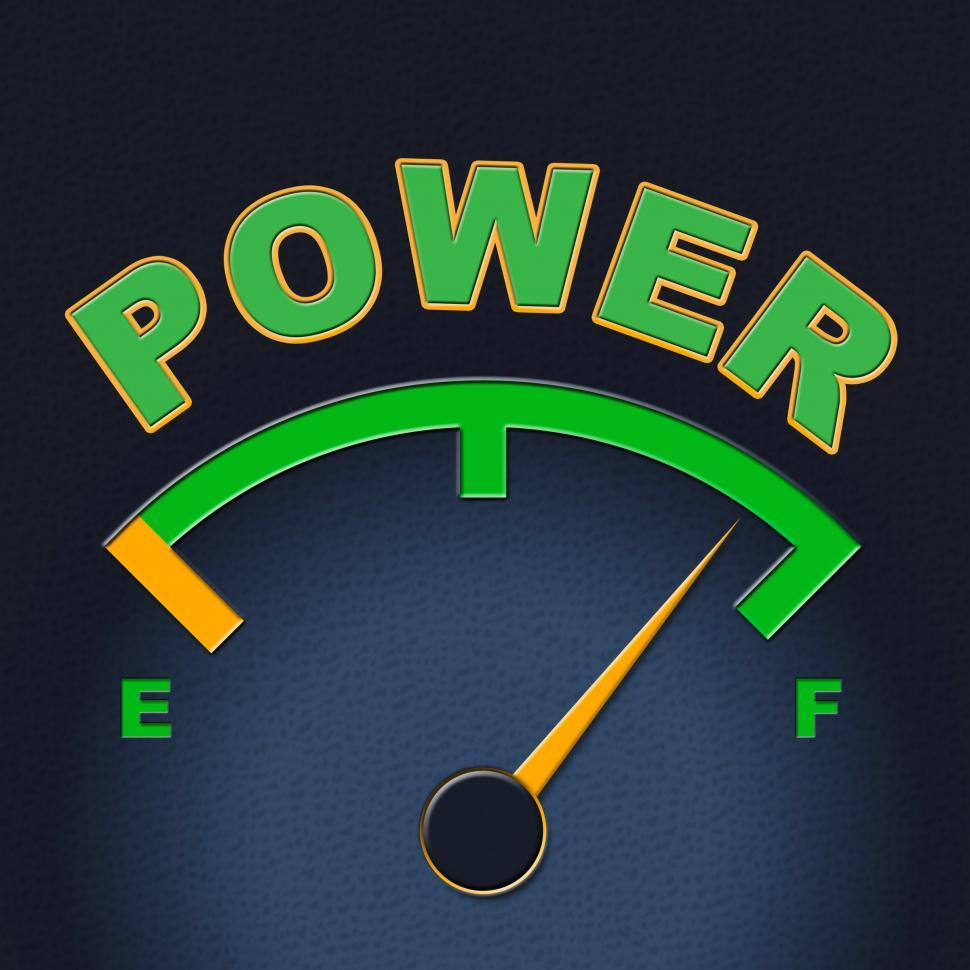 Download Free Stock HD Photo of Power Gauge Means Meter Might And Display Online