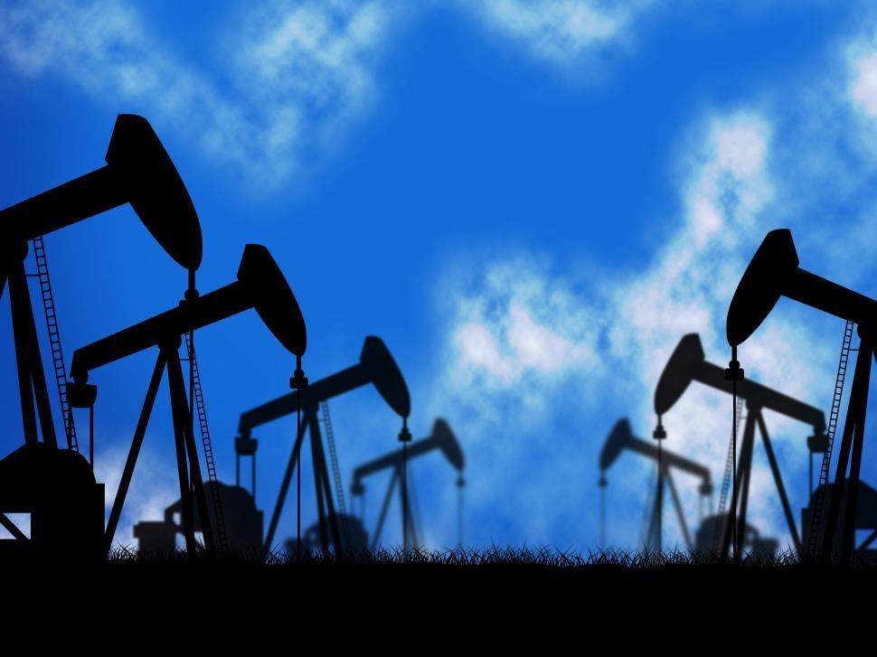 Download Free Stock HD Photo of Oil Wells Represents Extraction Drill And Oilwell Online