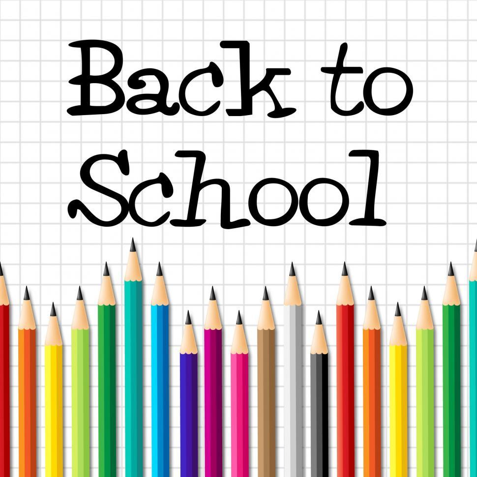 Download Free Stock HD Photo of Back To School Indicates Youth Youngsters And Learned Online