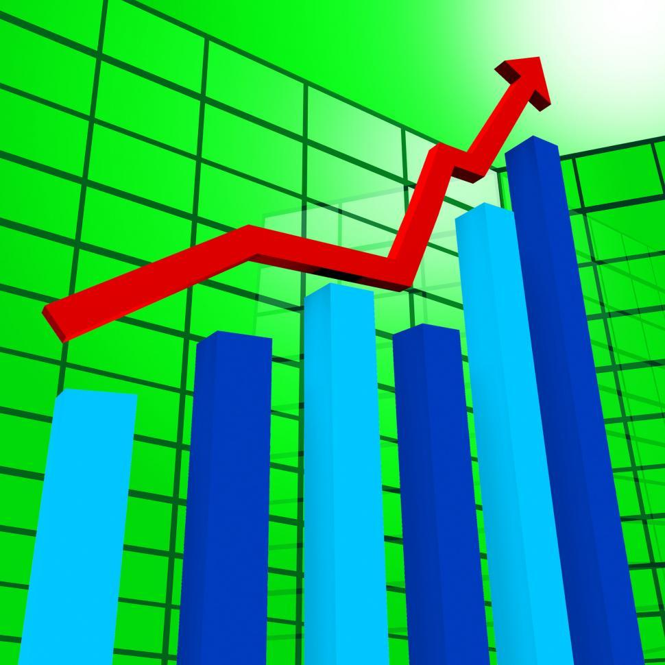 Download Free Stock HD Photo of Business Graph Indicates Diagram Infochart And Profit Online