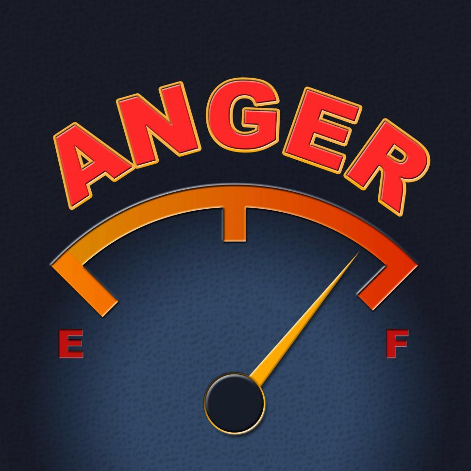 Download Free Stock HD Photo of Anger Gauge Means Annoy Annoyed And Rage Online