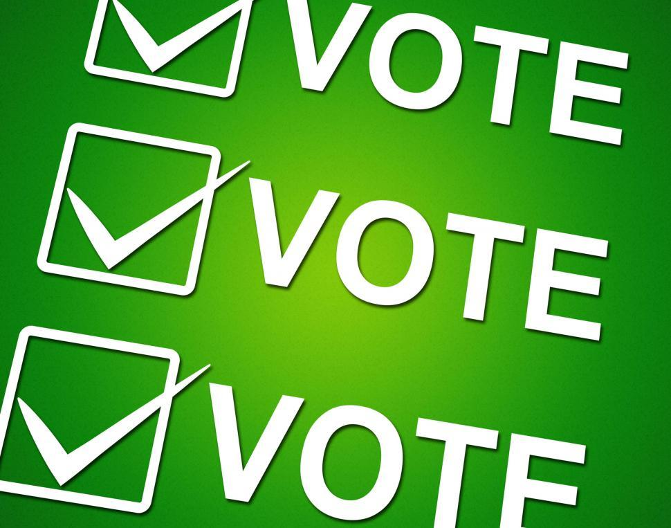 Download Free Stock HD Photo of Vote Ticks Indicates Choosing Voting And Choose Online