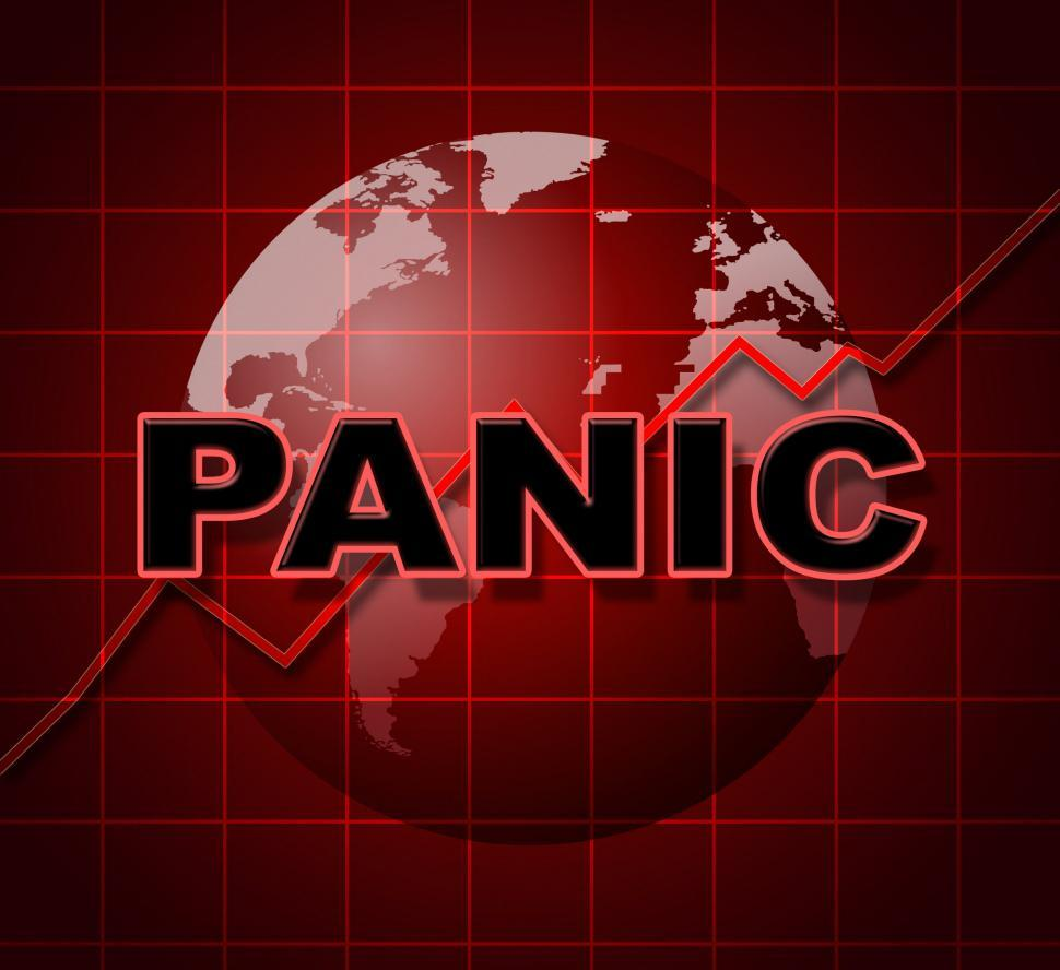 Download Free Stock HD Photo of Panic Graph Represents Infograph Anxiety And Diagram Online
