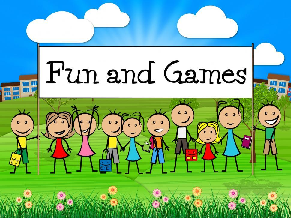 Download Free Stock HD Photo of Fun And Games Means Leisure Gaming And Kid Online