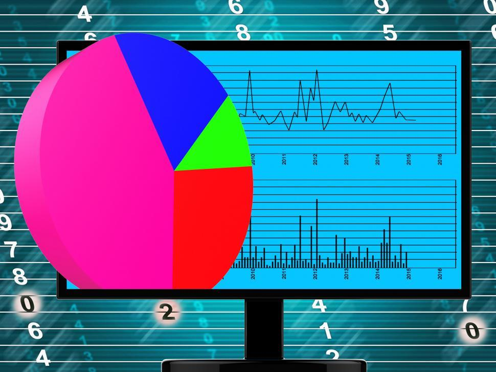 Get Free Stock Photos Of Pie Chart Online Represents Financial