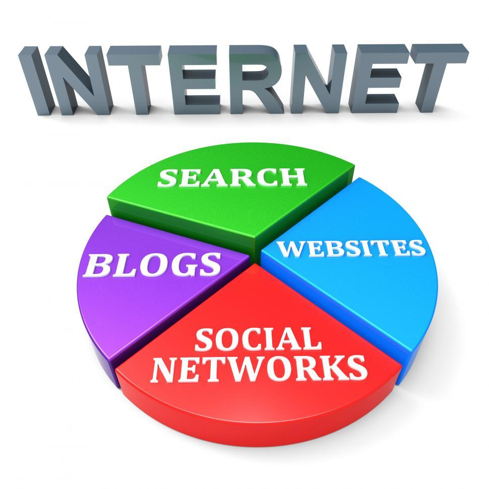 Download Free Stock HD Photo of Internet Search Means World Wide Web And Analysis Online