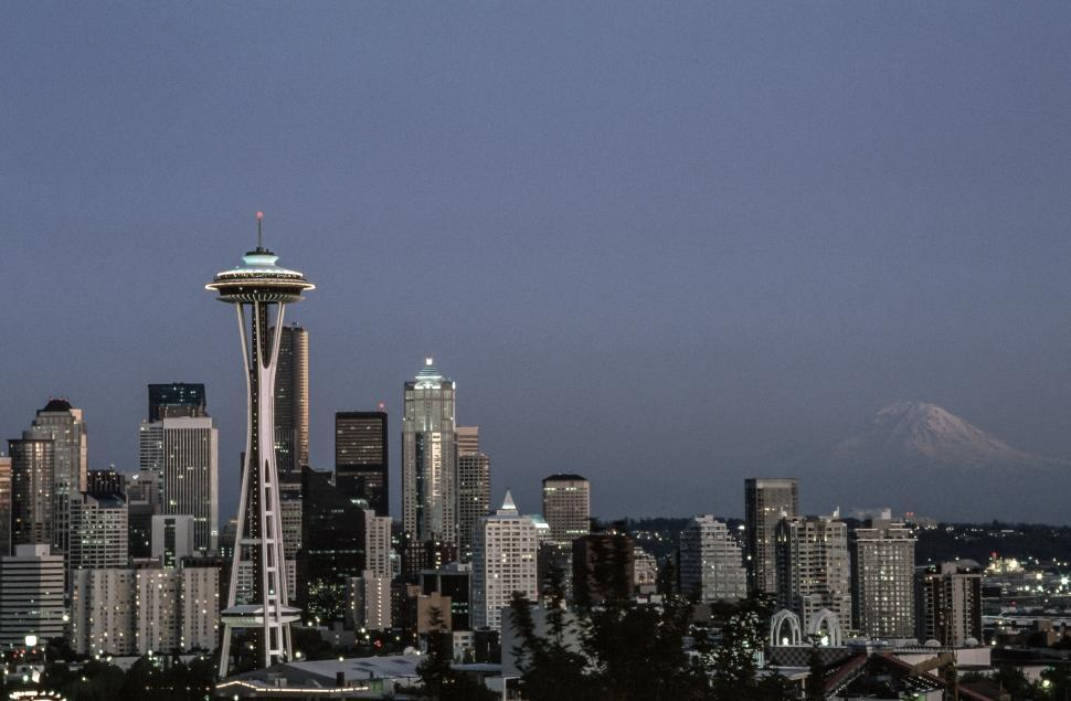 Download Free Stock HD Photo of Desaturated Seattle Online