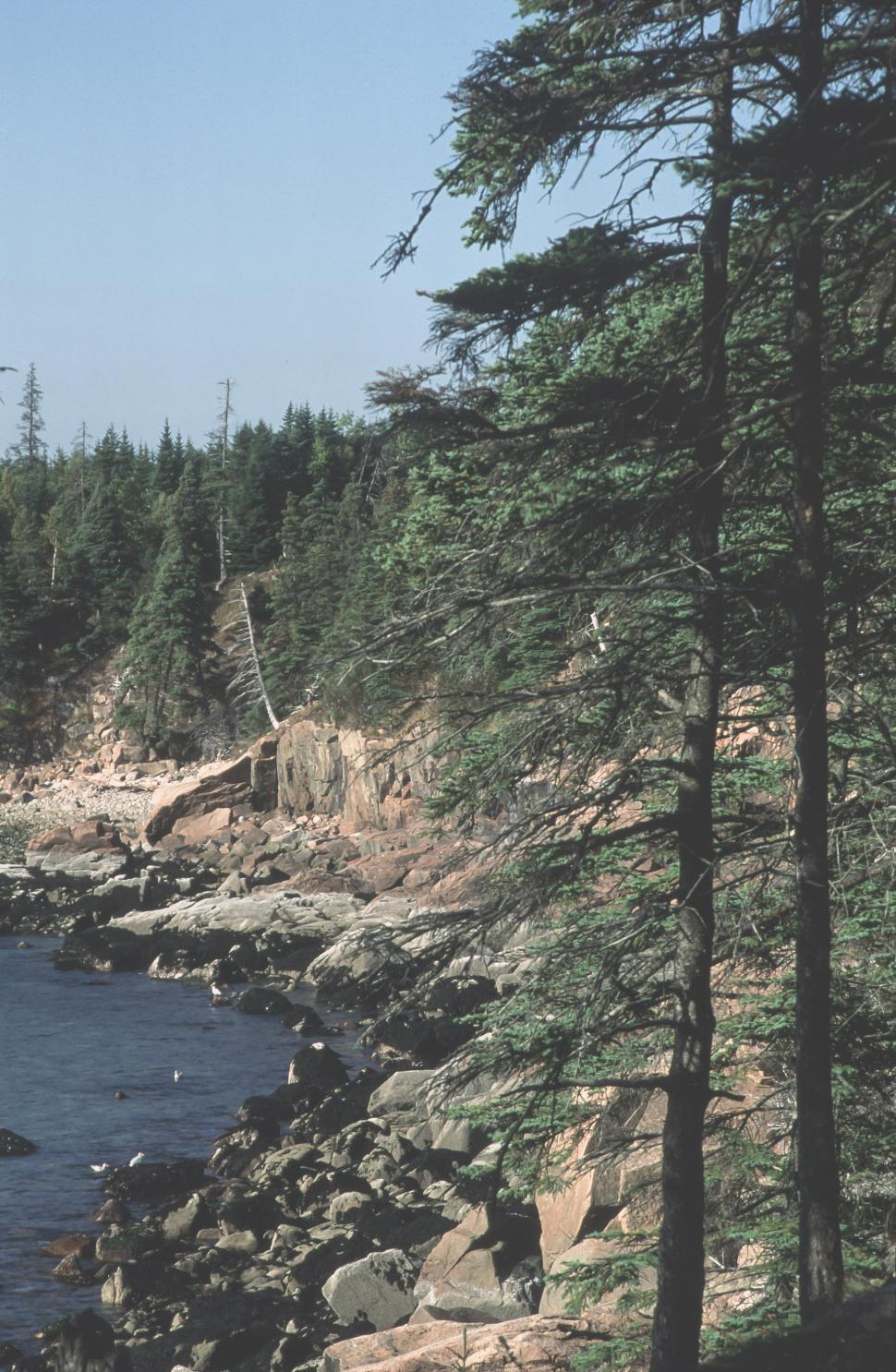 Download Free Stock HD Photo of Eagle Lake Rocky Shoreline Online