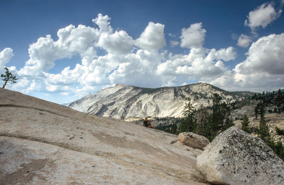 Download Free Stock HD Photo of Yosemite National Park rock slab Online