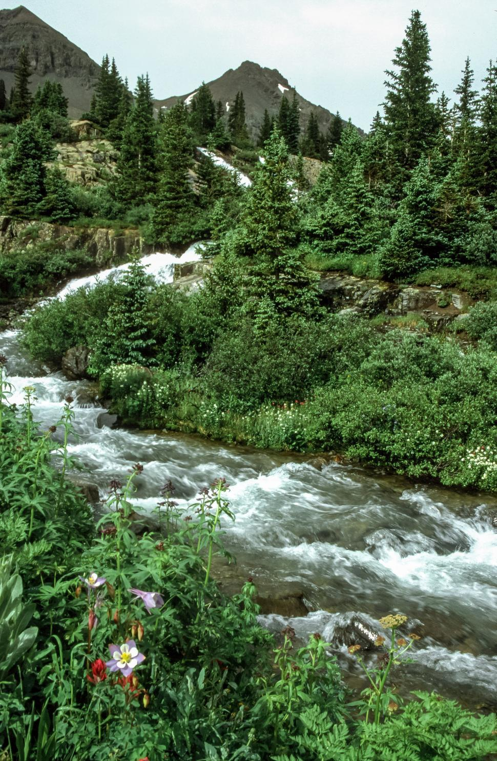 Download Free Stock HD Photo of Waterfall and stream Online