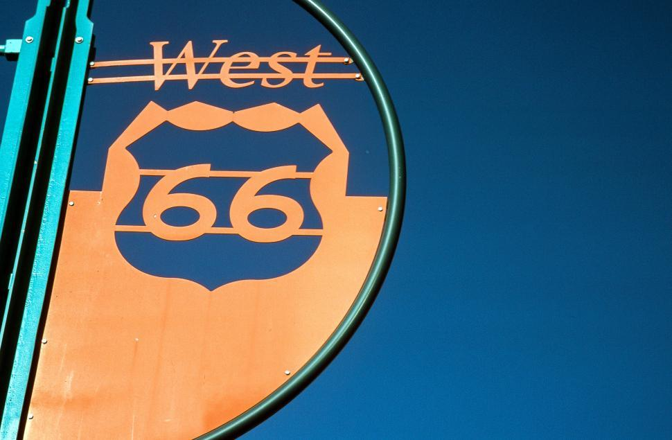Download Free Stock HD Photo of Route West 66 Online