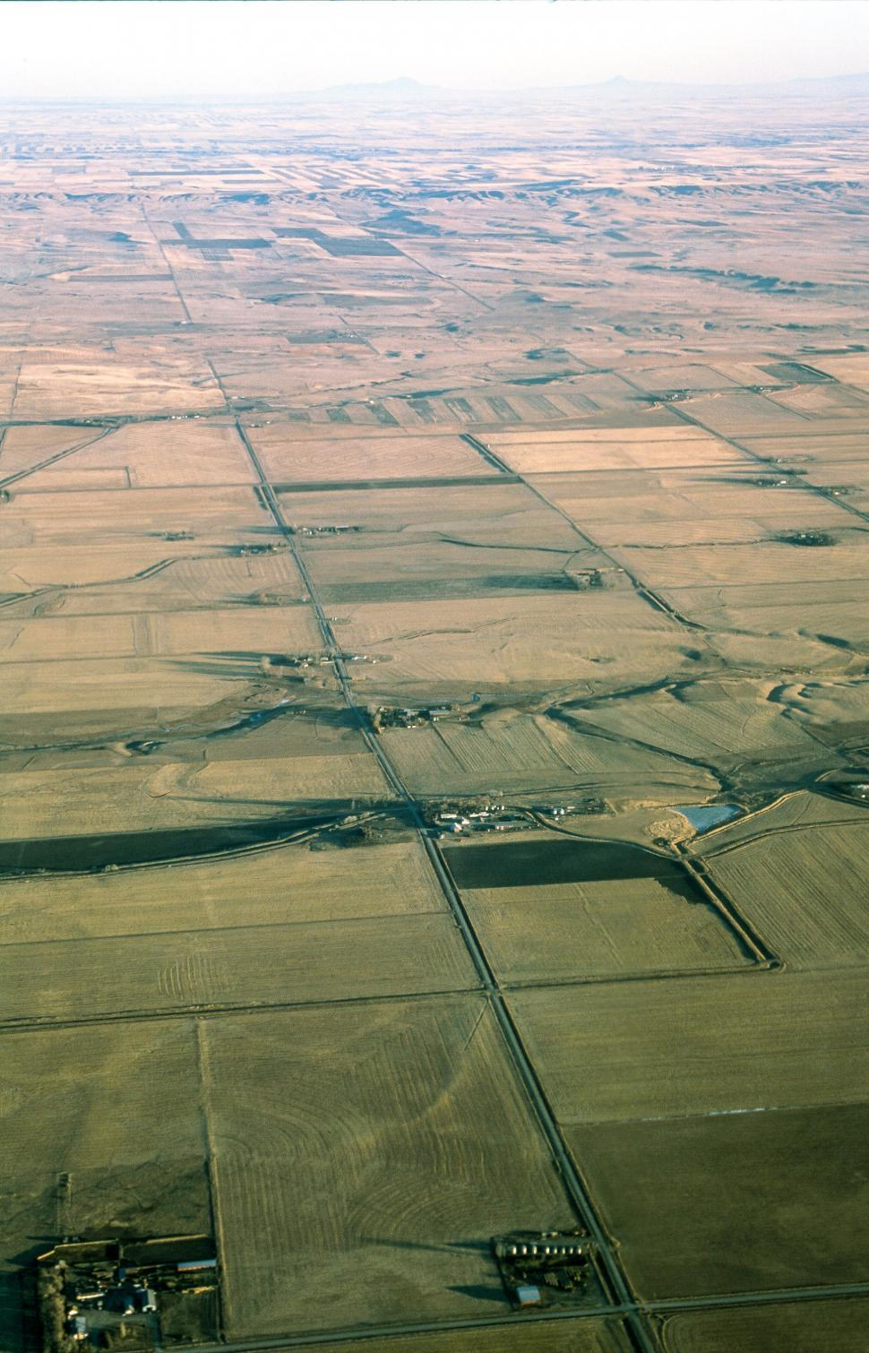 Download Free Stock HD Photo of Patchwork Field aerial Online