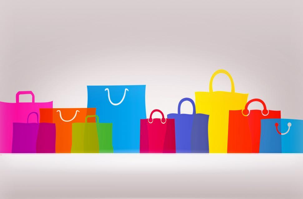 Download Free Stock HD Photo of Assorted Gift Bags and Shopping Bags - With Copyspace Online