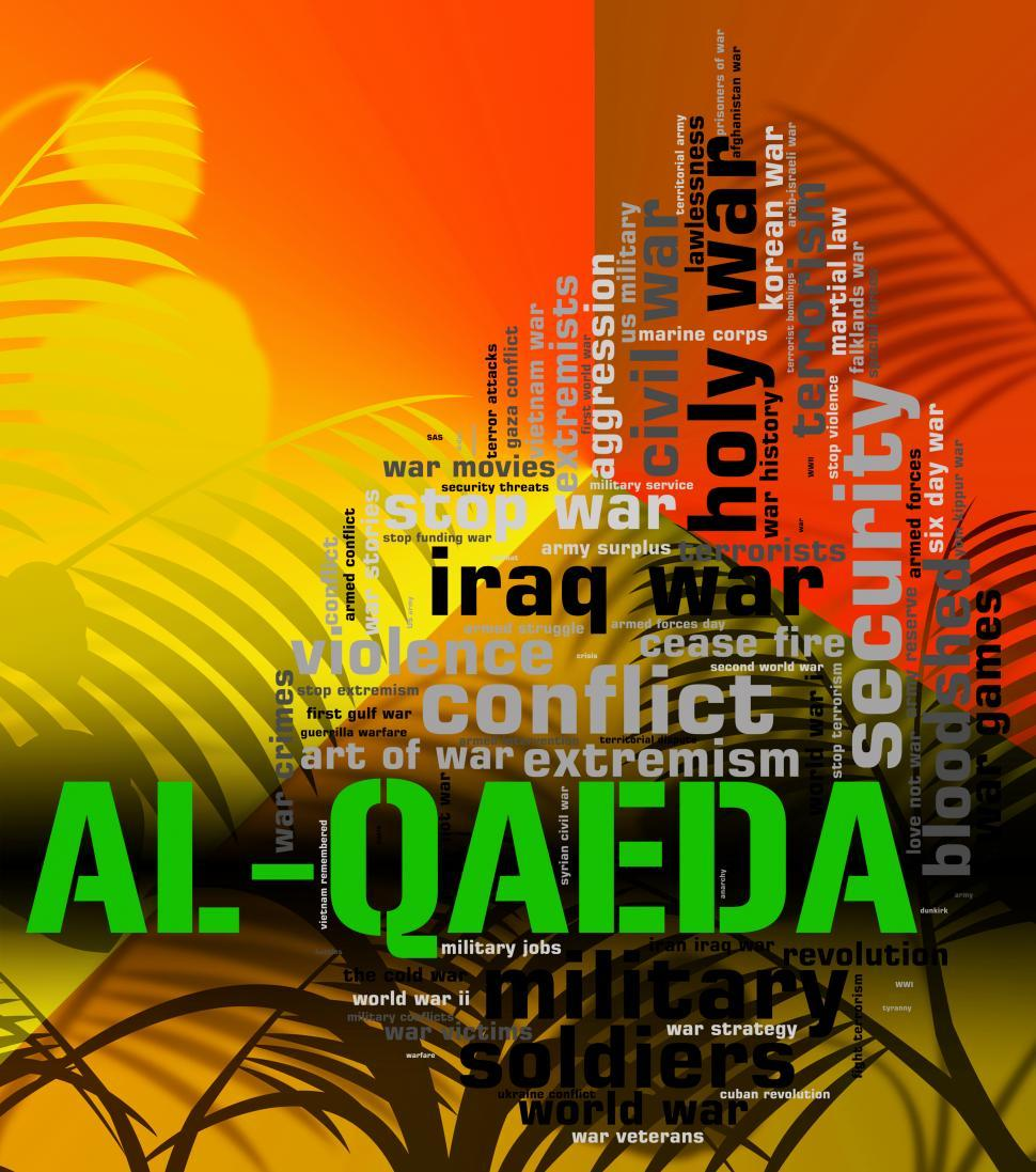 Download Free Stock HD Photo of Al-Qaeda Word Represents Freedom Fighters And Anarchist Online