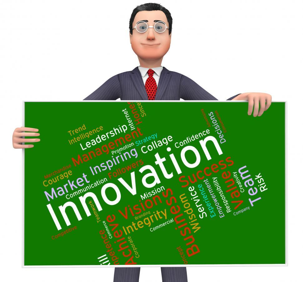 Download Free Stock HD Photo of Innovation Words Indicates Transformation Creative And Innovate Online