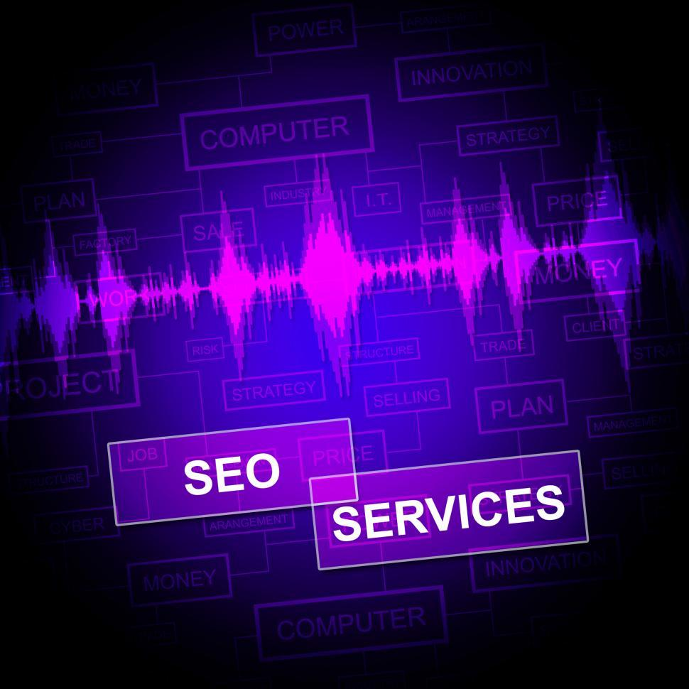 Seo Services Indicates Help Desk And Business